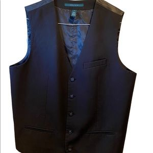 Large Perry Ellis Suit Vest